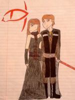 Lord and Lady Vader by SkywalkerGirl666