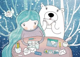 postcrossing by lettipaa