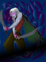 Drizzt finished or something.. by Ikrus