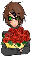 Hero with the rose by ElixChan