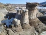 hoodoos in the badlands by Yonghwa-all-the-way