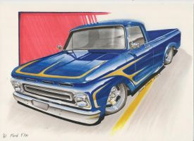 '61 Ford F100 by DominikScherrer