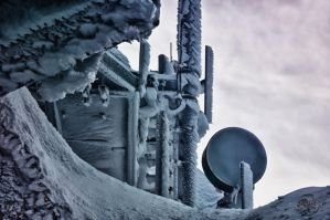 Frozen Antenna Station by Creative--Dragon