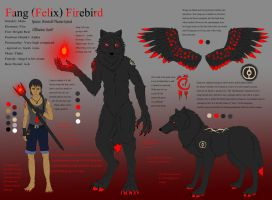 Character Sheet for Fang by fangfirebird100