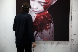The Disasters of War 25 by gottfriedhelnwein