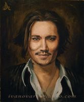 Johnny Depp by angelivanovart