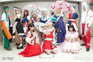 Touhou Group:::: by Witchiko