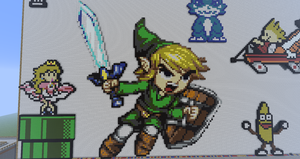 Pixel Link by BannerWolf