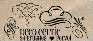 Celtic brushes by PervoiBrushes