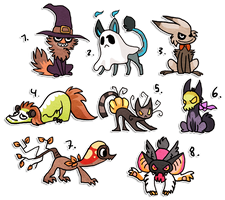 Herp derp halloween SOLD by griffsnuff