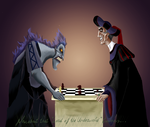 Frollo-Playing with the Devil by killerinsight