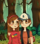 Mable and Dipper by avatargirl251