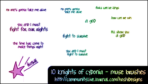 Knights of Cydonia - Muse by H0shii