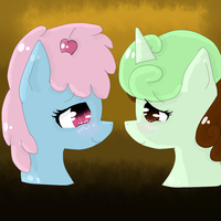 Looking In Your Eyes (Commission) by Blossomdash
