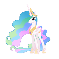 Celestia Vector by Ashidaru