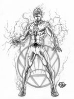 WHITE LANTERN Lightning Lad by JoePrado2010