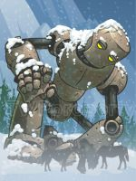 Snowbot giant by muravei
