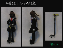 AatR - Miss No Mask by Fox7XD