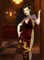 Lady Asami by Glasmond