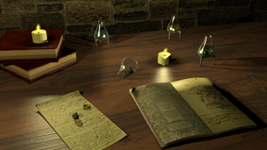 Alchemists Table by Fancy12