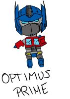 Little Big Optimus by FactionFighter