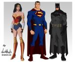 Trinity Movie   Young Justice Style by dark-BuB