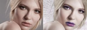 Beauty shot 1 Before and After by Unkn0wnfear