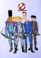 Hey Arnold -GhostBusters by Graudlugh