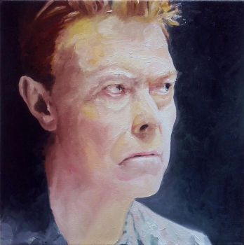 Retrato31 - Bowie by GuillermoMuller