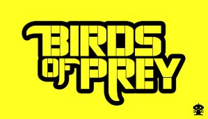 2011 The New 52 Birds of Prey Comic Title Logo by HappyBirthdayRoboto