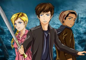 Percy Jackson: Sea of Monsters ANIME by LeBishoujo