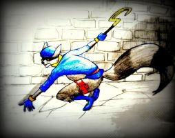 Sly Cooper by Likeflowerinthefield