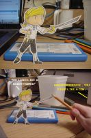 Paper Threepwood by pettyartist