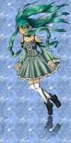 The Secret Chobits : The Miku's Strange Dream by Shanleigh-Owin