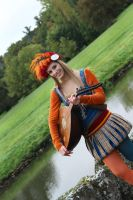 The Witcher -Priscilla the Bard cosplay by Corneline