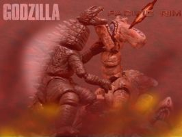 GODZILLA VS SLATTERM by mayozilla