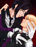Sebastian and Alois - Mutual Contempt by Keyhala