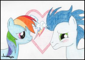 Rainbow and Soarin by Jacsveus
