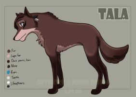 Ice Age Fan-character - Tala by agra19