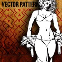 vector pattern 106 by paradox-cafe