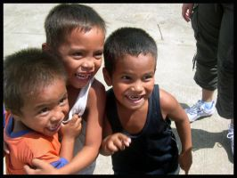 Filipino Children by bernizzle