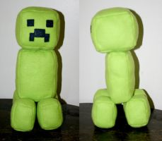 Creeper Plushie by TallmanCreations