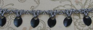 Scale Dangle Anklet by ydoc16