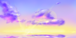 Sunset..? Free for all. 8D by Foxeaf