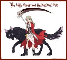 Little Red and the Wolf by MushaMusha