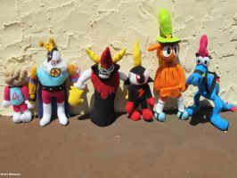 Wander Over Yonder Plushes by bigtimetransfan27