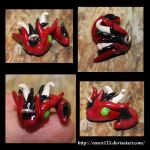Baby Dragon Charm more sides by enyce122