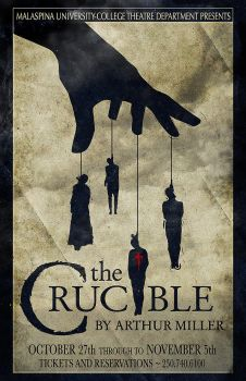 Crucible Poster by Ellusive