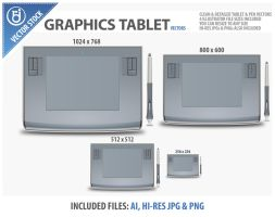 Vector Graphics Tablet by rjDezigns