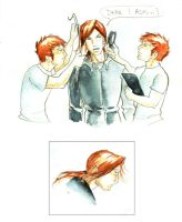 Bill Weasley Sketches 2 by The-Starhorse